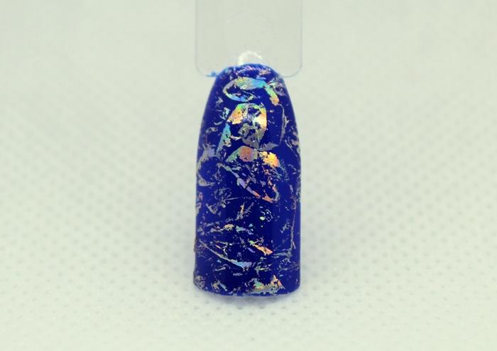 Снежинки на ногтях: пошаговое фото