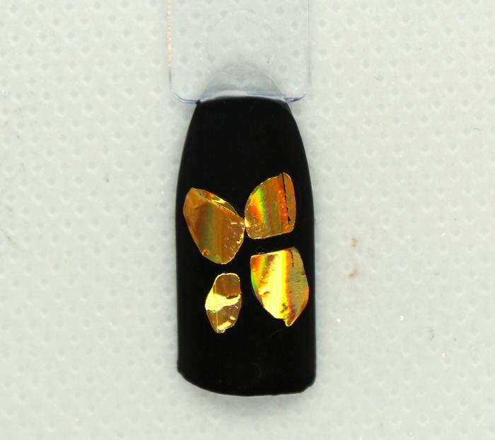 Дизайн ногтей в технике литье в фольгой: пошагово