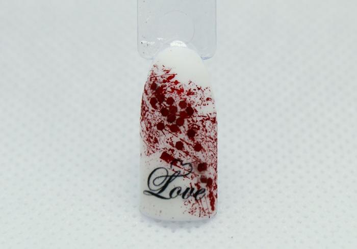 Дизайн Паутинка на ногтях