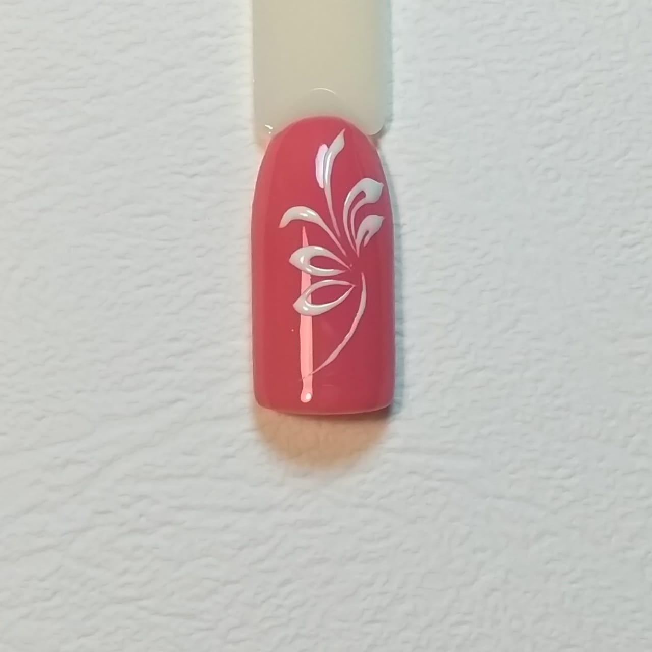Поэтапный урок по дизайну ногтей с вензелями