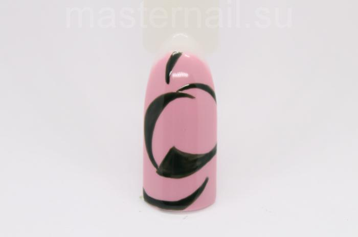Маникюр с арбузами на розовом гель-лаке: пошаговое фото