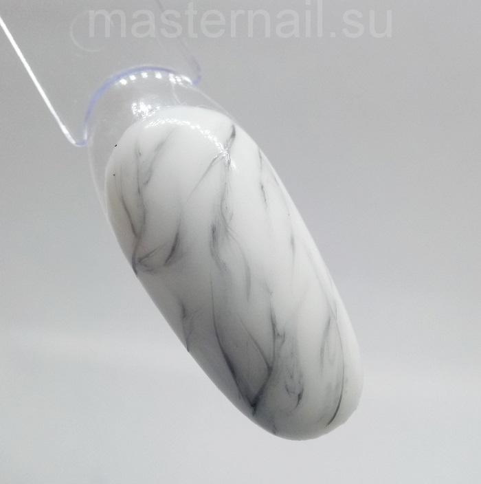 Мраморный маникюр гель-лаком для начинающих: пошаговое фото