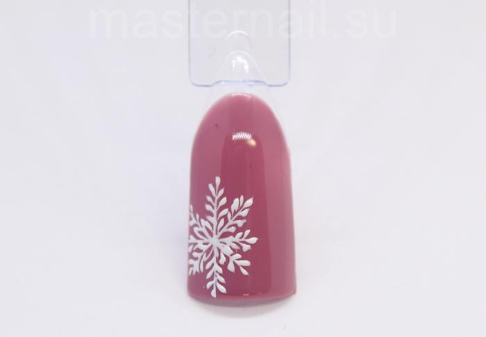 Рисунки на ногтях со снежинками: пошаговая инструкция с фото
